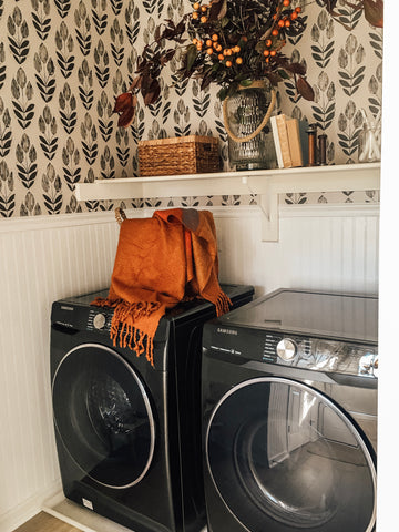 Fall laundry space