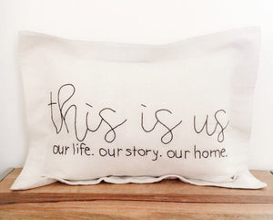 this is us, our life. our story. our home.
