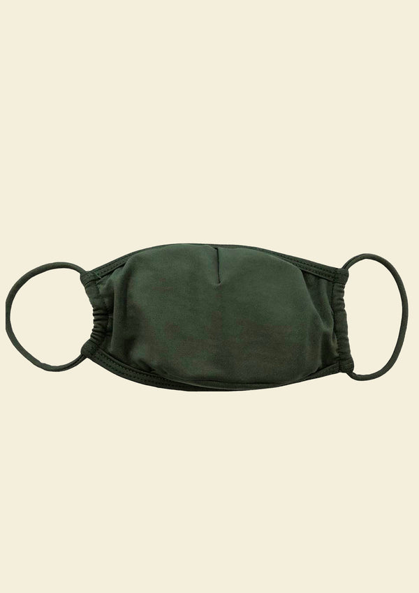 Face Mask - Men's Army Green