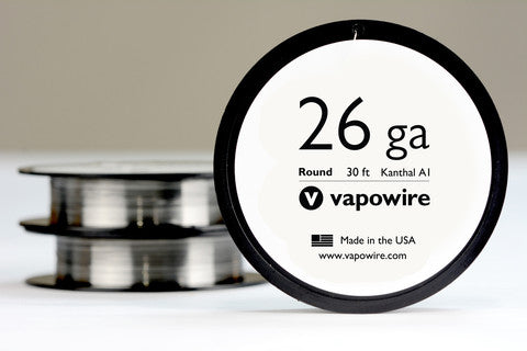 Vapowire Kanthal Wire Round (1ft Lengths) - Sublime Vapor