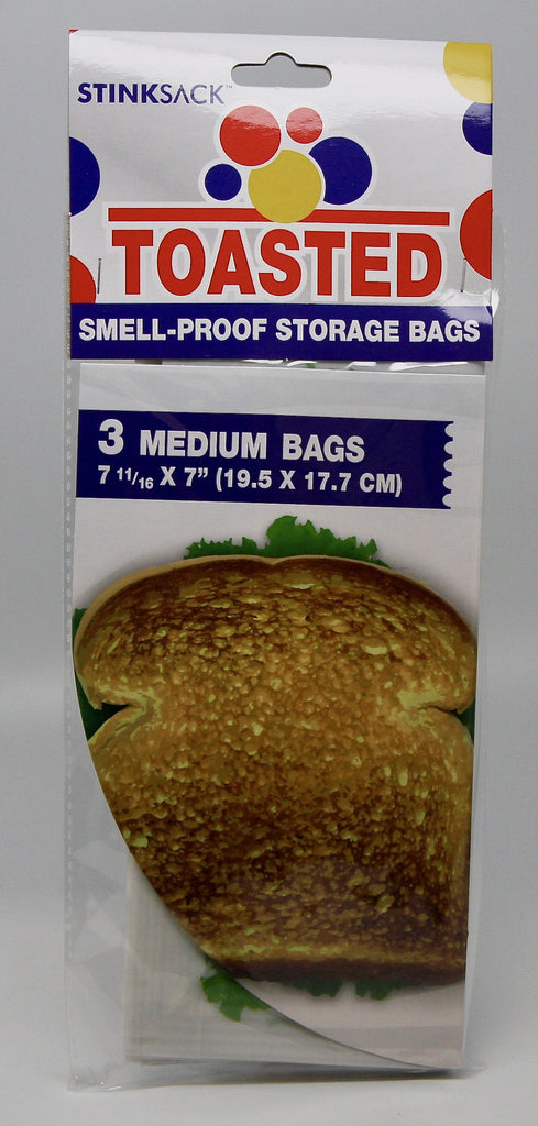 Stink Sack Toasted 3pk Smell Proof Bags - Sublime Vapor