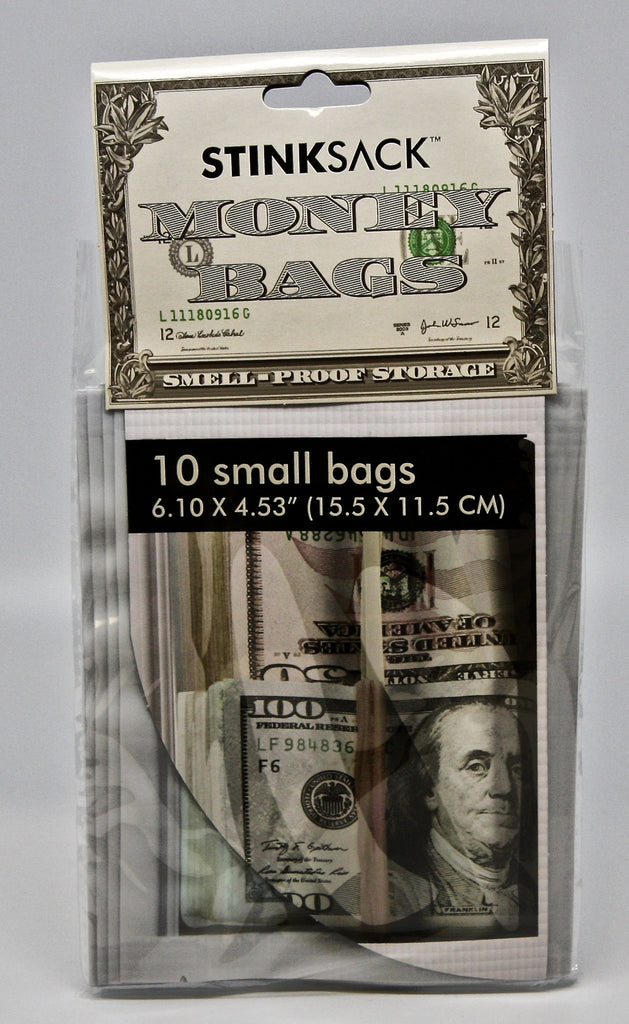 Stink Sack Money Bags 10pk Smell Proof Bag