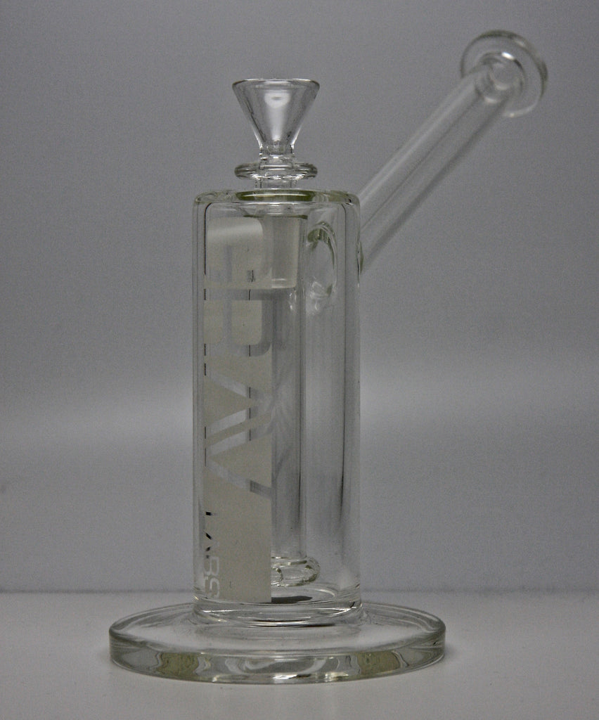 "Grav Labs UB4.0 7"" Upright Bubbler Clear"