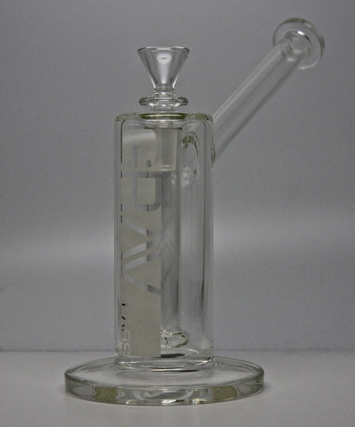 "Grav Labs UB4.0 7"" Upright Bubbler Clear - Sublime Vapor"