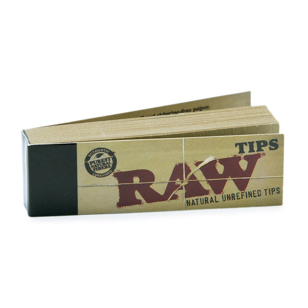 Raw 773 Unbleached Roll Up Tips