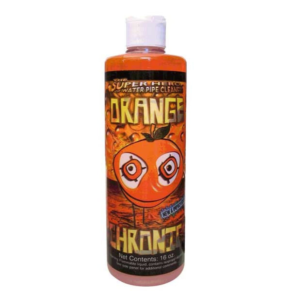 Orange Chronic 16oz Cleaner - Sublime Vapor