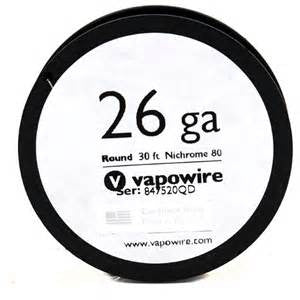 Vapowire Nichrome 60 30ft Spool Wire - Sublime Vapor