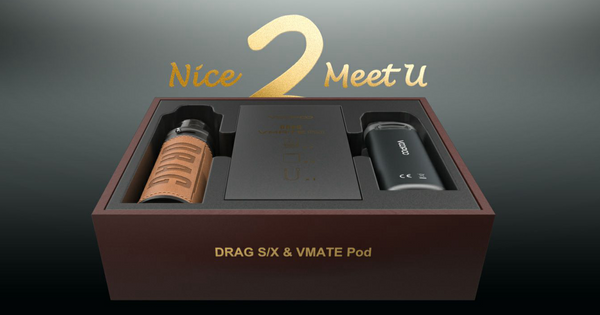 Voopoo Drag S / X & Vmate Gift Set REVIEW