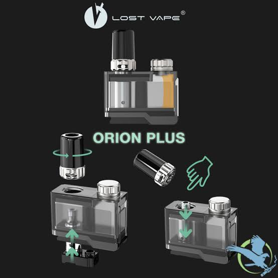ORION PLUS POD TANK 1 PC 2 COILS - EcigPodVape