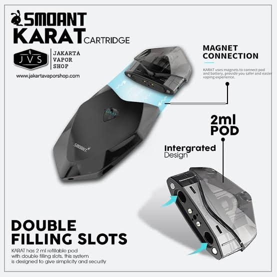 SMOANT KARAT EMPTY POD (CARTRIDGE) 1 PC - EcigPodVape
