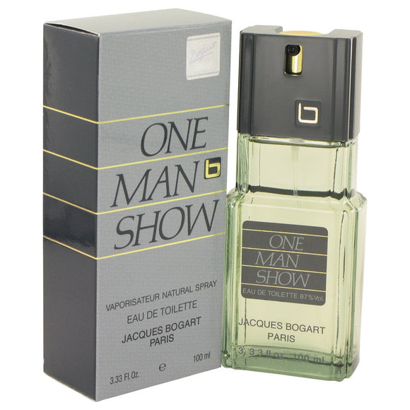 ONE MAN SHOW by Jacques Bogart Eau De Toilette Spray 3.3 oz for Men