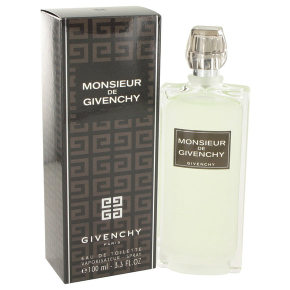 Monsieur Givenchy by Givenchy Eau De Toilette Spray 3.4 oz for Men