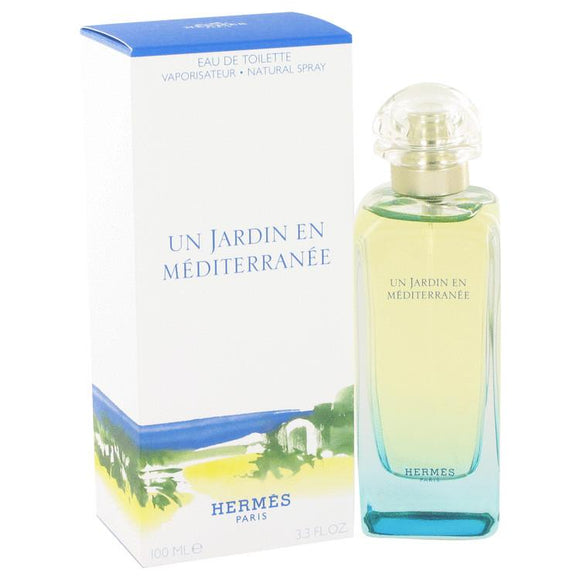 Un Jardin En Mediterranee by Hermes Eau De Toilette Spray (Unisex) 3.4 oz for Men - ParaFragrance