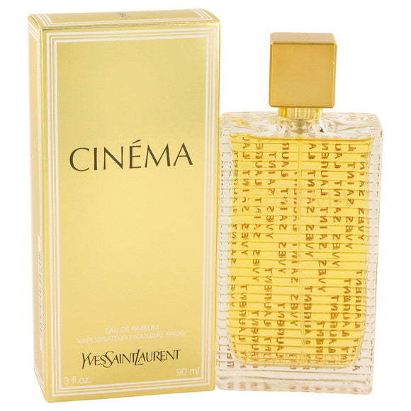 Cinema by Yves Saint Laurent Eau De Parfum Spray 3 oz for Women