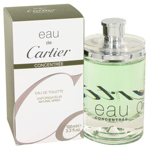 EAU DE CARTIER by Cartier Eau De Toilette Spray Concentree (Unisex) 3.4 oz for Men