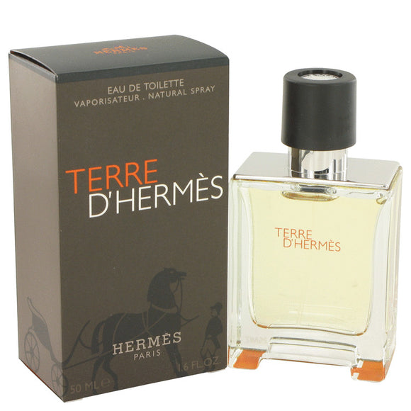 Terre D'Hermes by Hermes Eau De Toilette Spray 1.7 oz for Men