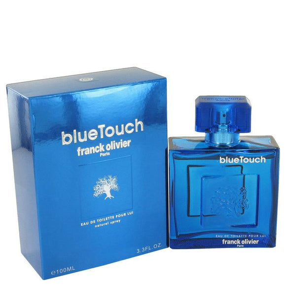 Blue Touch by Franck Olivier Eau De Toilette Spray 3.4 oz for Men - ParaFragrance
