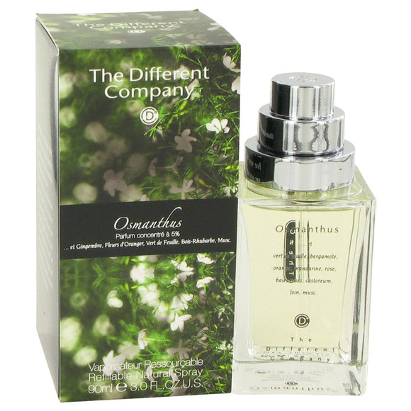 Osmanthus by The Different Company Eau De Toilette Spray Refilbable 3 oz for Women