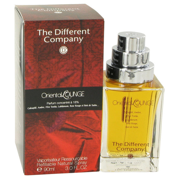 Oriental Lounge by The Different Company Eau De Parfum Spray Refillable 3 oz for Women