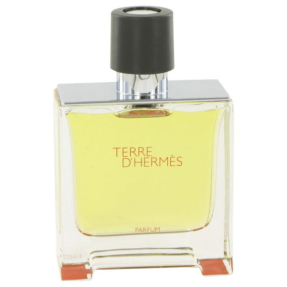 Terre D'Hermes by Hermes Pure Perfume Spray (Tester) 2.5 oz for Men - ParaFragrance