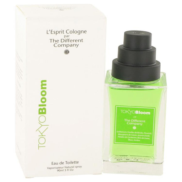 Tokyo Bloom by The Different Company Eau De Toilette Spray (Unisex) 3 oz for Women - ParaFragrance