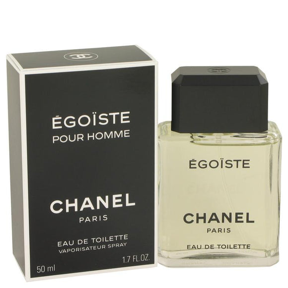 EGOISTE by Chanel Eau De Toilette Spray 1.7 oz for Men - ParaFragrance
