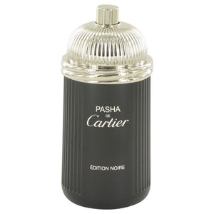 Pasha De Cartier Noire by Cartier Eau De Toilette Spray (Tester) 3.3 oz for Men - ParaFragrance