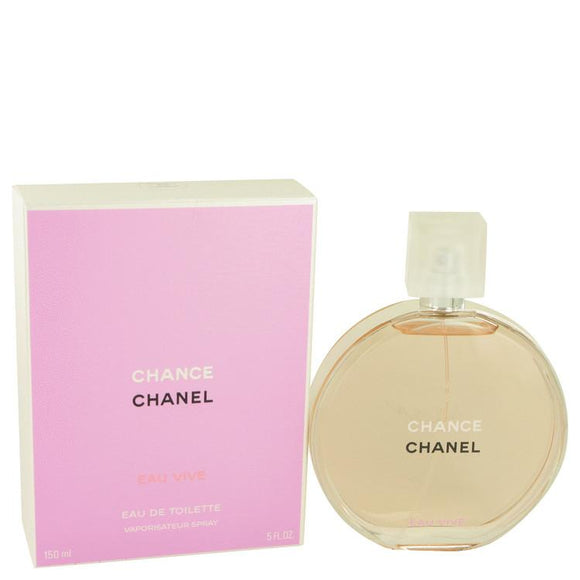 Chance Eau Vive by Chanel Eau De Toilette Spray 5 oz for Women - ParaFragrance