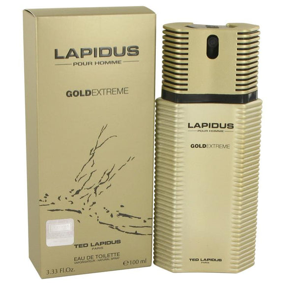 Lapidus Gold Extreme by Ted Lapidus Eau De Toilette Spray 3.4 oz for Men - ParaFragrance