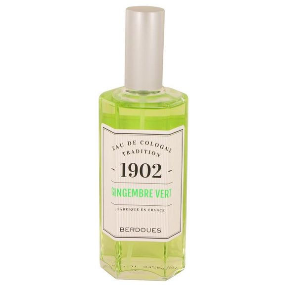 1902 Gingembre Vert by Berdoues Eau De Cologne Spray (unboxed) 4.2 oz for Women - ParaFragrance