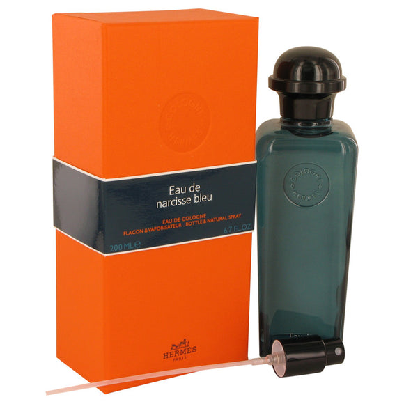 Eau De Narcisse Bleu by Hermes Cologne Spray (Unisex) 6.7 oz for Men