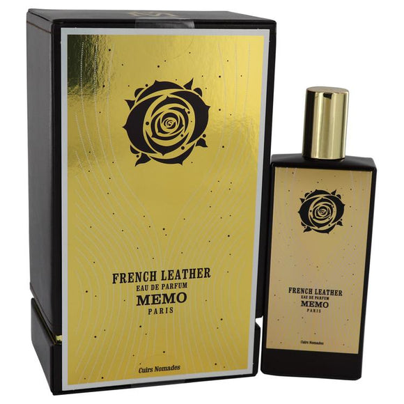 French Leather by Memo Eau De Parfum Spray (Unisex) 2.5 oz for Women - ParaFragrance