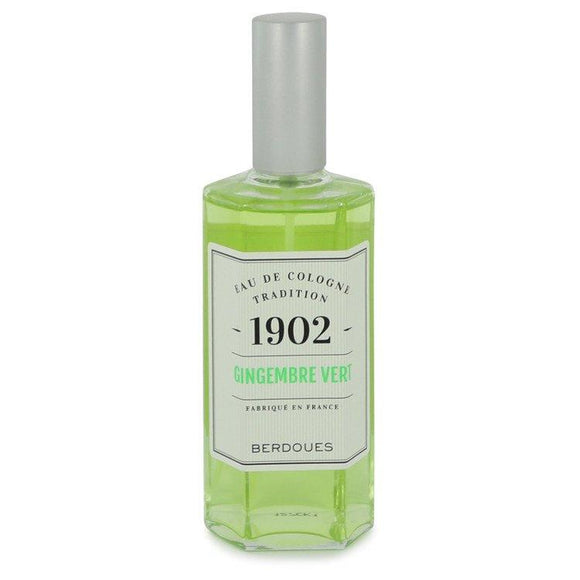 1902 Gingembre Vert by Berdoues Eau De Cologne Spray (Tester) 4.2 oz for Women - ParaFragrance