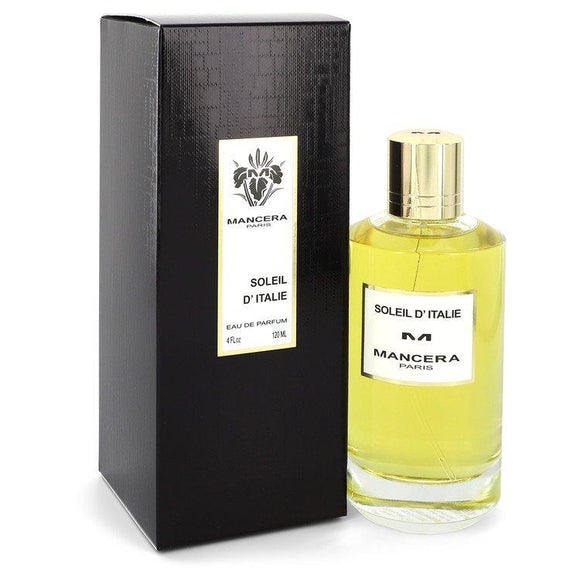 Mancera Soleil D'Italie by Mancera Eau De Parfum Spray (Unisex) 4 oz for Women - ParaFragrance