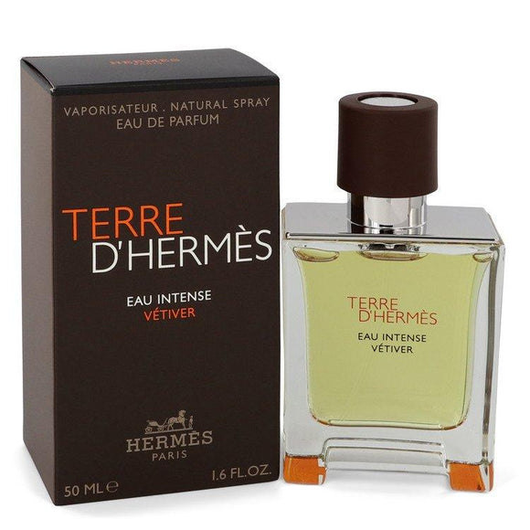 Terre D'hermes Eau Intense Vetiver by Hermes Eau De Parfum Spray 1.7 oz for Men - ParaFragrance