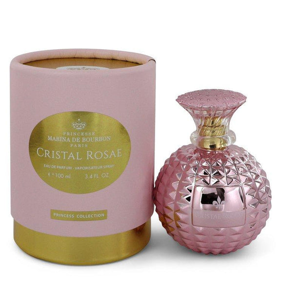 Marina De Bourbon Cristal Rosae by Marina De Bourbon Eau De Parfum Spray 3.4 oz for Women - ParaFragrance