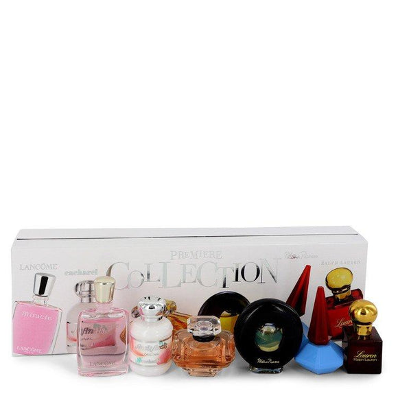 TRESOR by Lancome Gift Set -- Premiere Collection Set Includes Miracle, Anais Anais, Tresor, Paloma Picasso, Lou Lou and Lauren all are travel size minis. for Women - ParaFragrance
