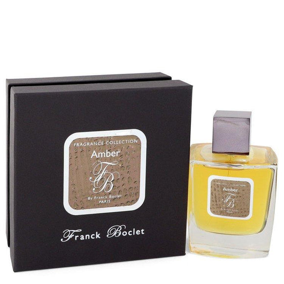 Franck Boclet Amber by Franck Boclet Eau De Parfum Spray (Unisex) 3.4 oz for Men - ParaFragrance