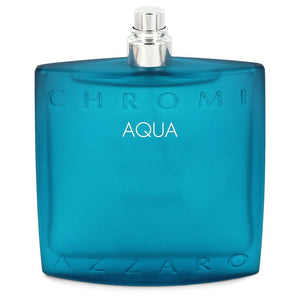 Chrome Aqua by Azzaro Eau De Toilette Spray (Tester) 3.4 oz for Men