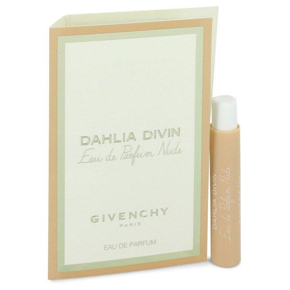 Dahlia Divin Nude by Givenchy Vial (sample) .03 oz for Women - ParaFragrance
