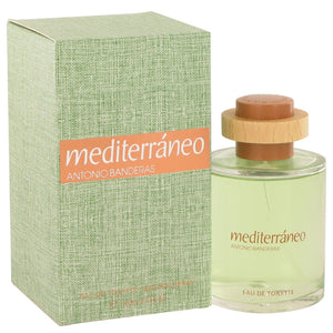 Mediterraneo by Antonio Banderas Eau De Toilette Spray (unboxed) 3.4 oz for Men