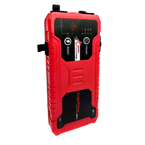 JumpsPower™ AMG15 Powersports Battery - Pocket Jump Starter With Ingenious Spark-Proof Clamp + Powerbank
