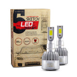 Carsthetics Sketch LED Headlight Breeze - H7 Single Color Low Beam