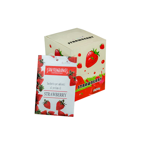 Strawberry Ambient Perfume Paper Scent Sachet for Home, Office, CR, Cabinets, Car and more
