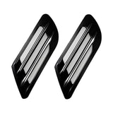 Universal Car Decorative Air Flow Intake Hood Scoop Bonnet Vent Sticker Cover Hood (Black)
