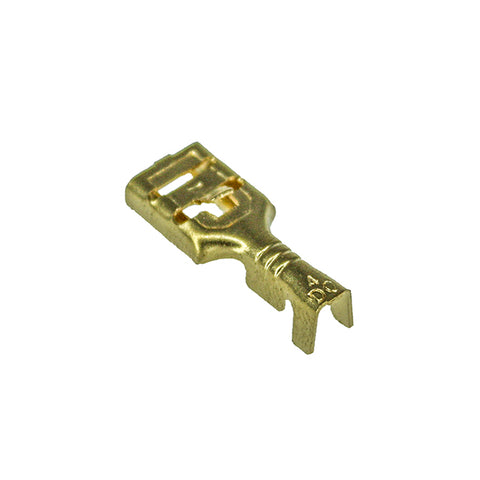 6.3mm Copper Connector (100 pcs)