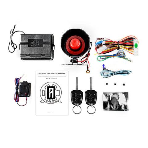 Aventail Key Alarm System for Hyundai 2010 - Above (New) - Standard Edition
