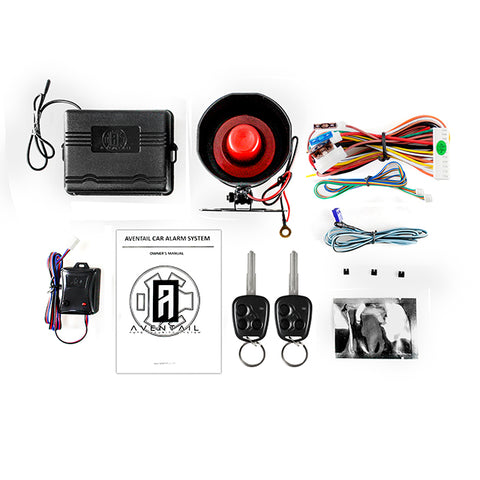 Aventail Key Alarm System for Hyundai Eon - Standard Edition