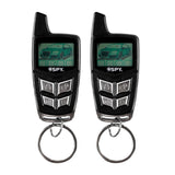 SPY LT-310 Basic Security System (4-Button Smart LCD Remote)