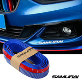 Samurai Rubber Skirt Racing Lip Carbon (Blue)